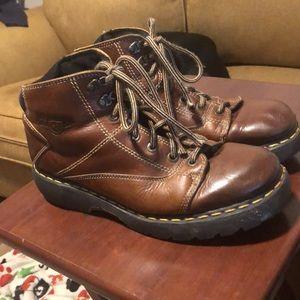 Doc Martens Chunky Platform Ankle Boots Sz 12